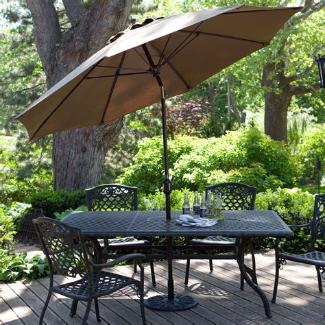 california patio umbrellas california umbrella 11 ft fiberglass vent pacifica