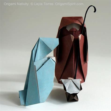 How To Make An Origami Nativity - 195 best nativity diy images on