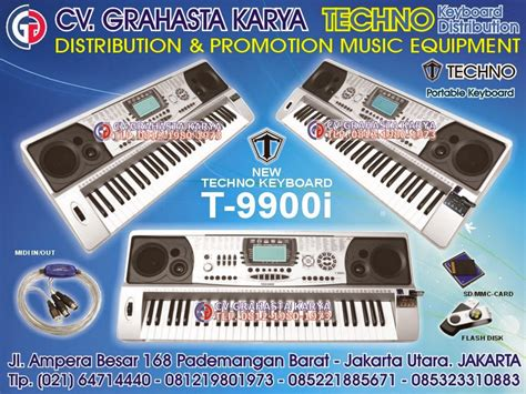 Keyboard Techno T9900i Bekas keyboard techno distributor grahasta musik keyboard