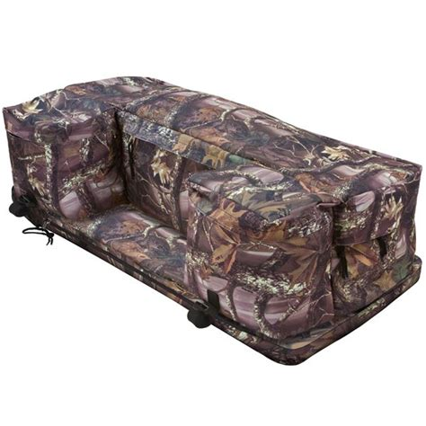 four wheeler rack seat atv rear rack storage bags with removable seat cushion
