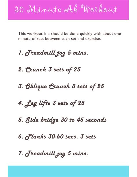 ab workouts abdominal routines for and