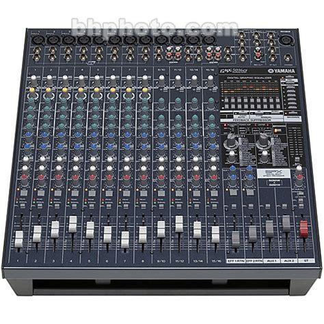 Power Mixer Yamaha Emx 5016 yamaha emx5016cf 16 powered mixer emx5016cf b h photo