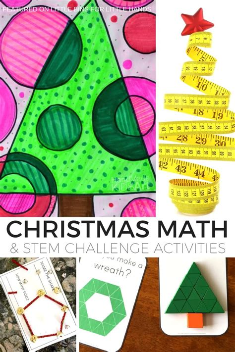 christmas algebra projects math activities and math stem challenges for