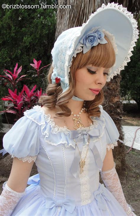 Bonnet Hairstyle | 61 best images about lolita hairstyle headwear inspiration