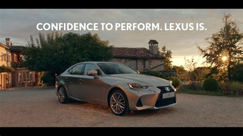 lexus ads 2017 lexus is 2017 confidence to perform tv advert
