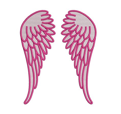 embroidery design angel wings angel wings filled machine embroidery digitized design pattern