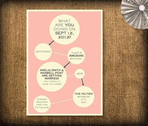 20 fun amp unique wedding invitations bespoke bride