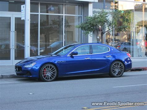 Maserati Beverly by Maserati Ghibli Spotted In Beverly California On 12