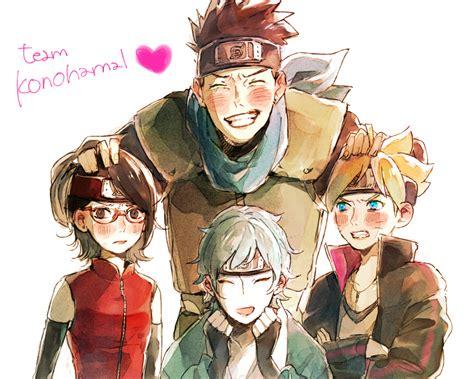 wallpaper tim boruto team konohamaru naruto zerochan anime image board