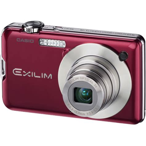New Casio Exilim Cosies Up To Technology by Casio Exilim Ex S10 Digital Ex S10ardebc B H
