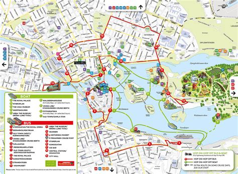 hop on hop off boat stockholm route hop on hop off bus and boat tours free with the