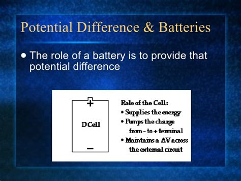 potential difference capacitor potential difference capacitance