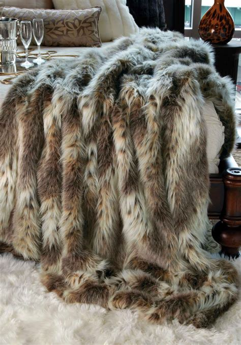 Fur Quilt by Fresh Twist Decorating With Sheepskin Faux Fur
