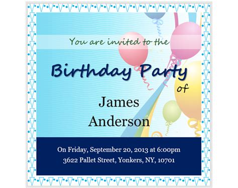 13 Free Templates For Creating Event Invitations In Microsoft Word Microsoft Word Birthday Invitation Templates