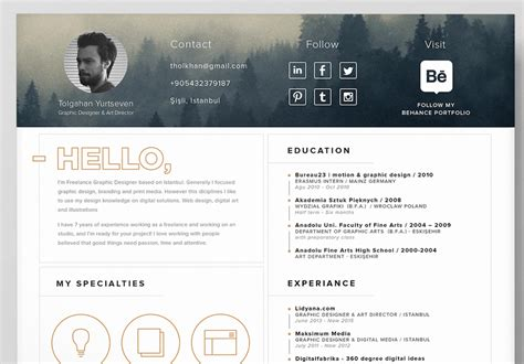 design cv ai best free resume templates in psd and ai in 2018 colorlib