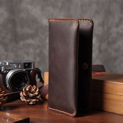 Dompet Wallet Kasual Pria H 9143 handmade vintage genuine leather wallet wallet leather wallet style
