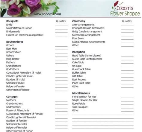 Wedding Checklist Website by Wedding Ceremony Checklist Steps For A Better Florist