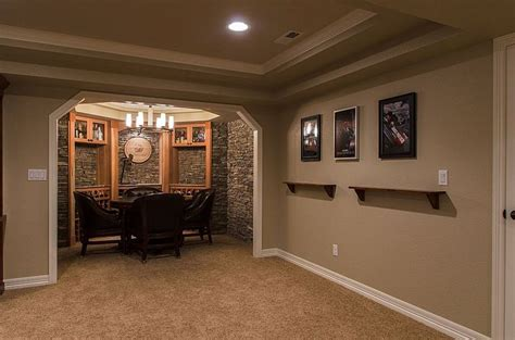 Pin By Karli Nickerson On Future Home Pinterest Simple Basement Finishing