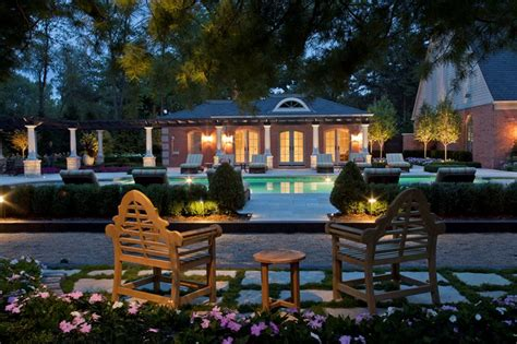 Pool Houses Clarkston Mi Photo Gallery Landscaping Landscape Lighting Company