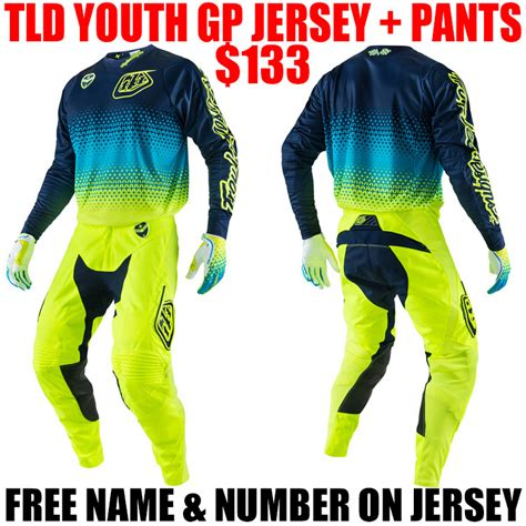 tld motocross gear 2017 tld gp youth starburst gear combo navy pro style mx