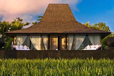 layout rumah joglo sebuah desain vila resort pinggir pantai kuta lombok