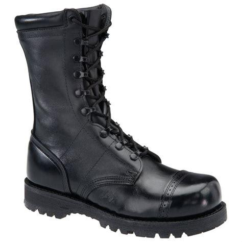 mens black combat boots s corcoran 174 10 quot steel toe field boots black 579102