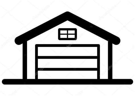 Garage Icon by Garage Icon Stock Vector 169 Furtaev 37298759