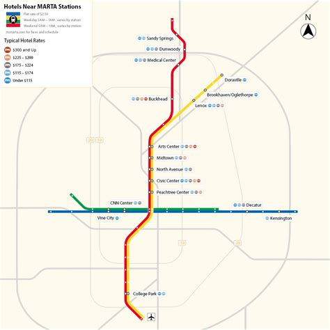 marta station map map of atlanta marta stations that hotels nearby hotels near atlanta marta