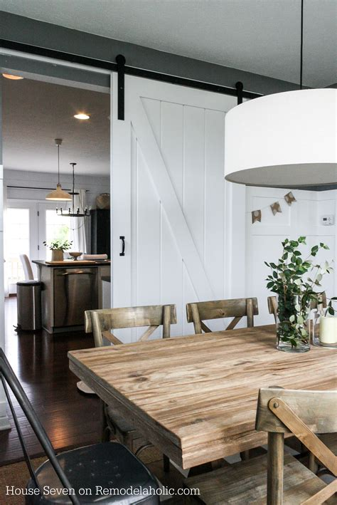 top 10 favorite blogger home tours remodelaholic simple diy barn door tutorial