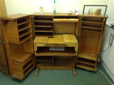 Fold Away Office Desk Retro Vintage Teak Folding Home Office Fold Away Desk Compact Designer Ebay Fold Away