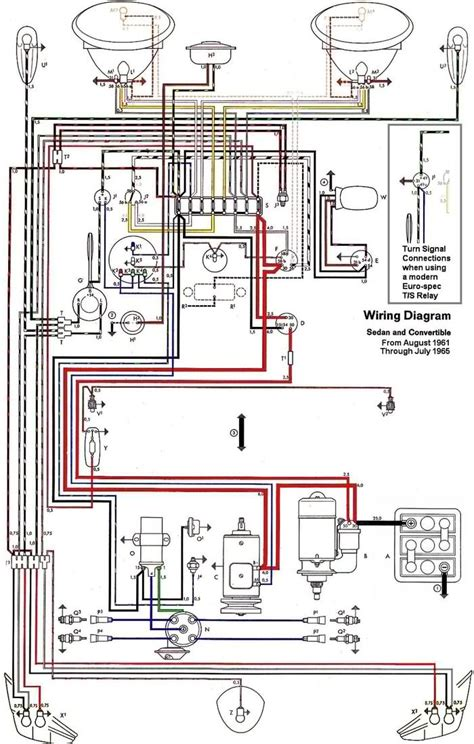 vw ignition wiring diagram free schematic vw