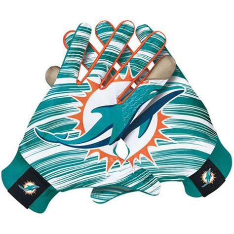 miami dolphins fan gear mens miami dolphins nike stadium fan gloves cbssports