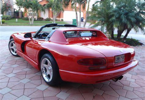 dodge viper 1998 dodge viper rt 10 for sale 1777351 hemmings motor news occasion le parking 1998 dodge viper rt 10