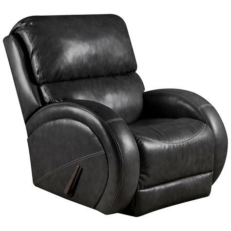 black leather rocking recliner flash furniture contemporary bentley black leather rocker