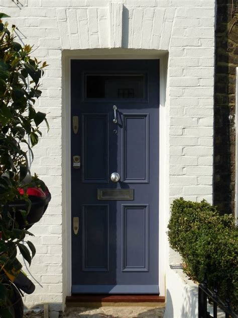 The London Door Company Grey Thunder Paint Colour Front Door Company