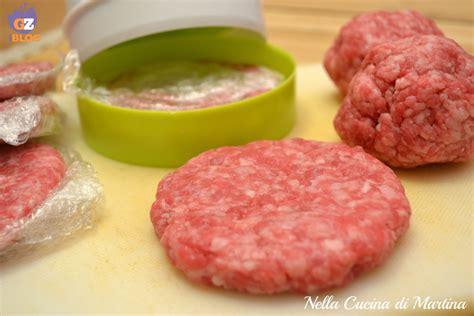 ricetta per hamburger fatti in casa hamburger fatti in casa con la pressa