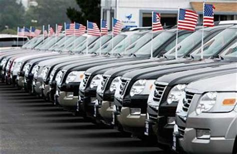 auto dealer used car sales as harbinger of the market