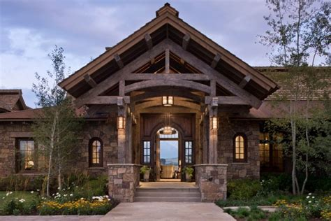 western style house exterior designs 15 inviting rustic entry designs for this winter