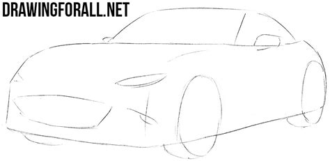 miata drawing how to draw a miata drawingforall