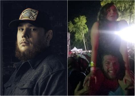 luke combs fan luke combs plays matchmaker per fan s