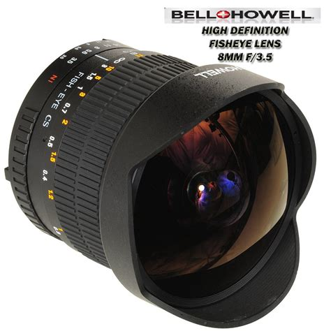 lens for nikon d3200 bell howel fisheye 8mm f3 5 lens for nikon slr d3200