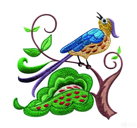design embroidery online a birds paradise jf307 embroidery design
