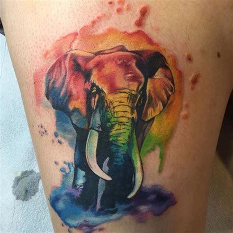 tattoo color history слон значение татуировки онлайн журнал о тату