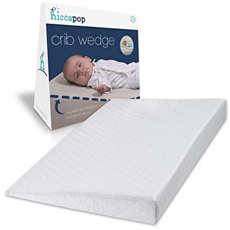 Crib Mattress Wedge Hiccapop Foldable Safe Lift Universal Crib Wedge For Baby Mattress And Sleep 0881314930586