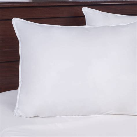 somerset home cumulus microbead pillow walmart com somerset home poly filled easy side sleeper pillow