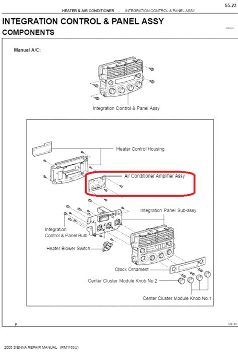 2004 toyota air conditioning wiring diagram toyota