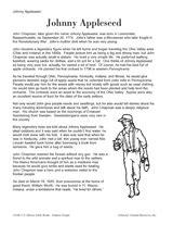 learn johnny appleseed printable 3rd grade teachervision