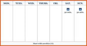 14 one week calendar survey template words