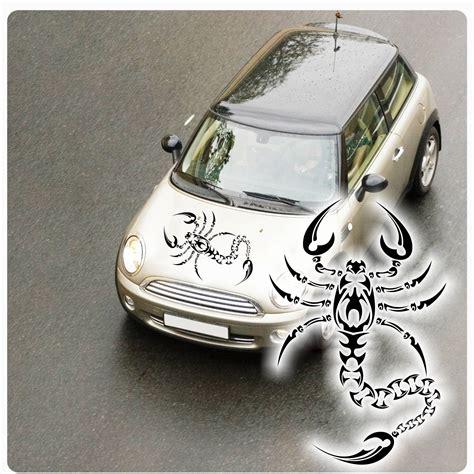 Auto Sticker Motorhaube by Skorpion Auto Aufkleber Tribal Motorhauben Sticker