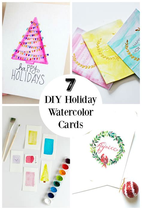 make and send cards 7 diy watercolor cards to send out to friends